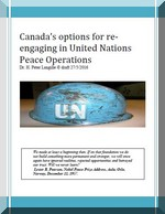 Canadian options for re-engaging in UN peace operations - 27 5 2016